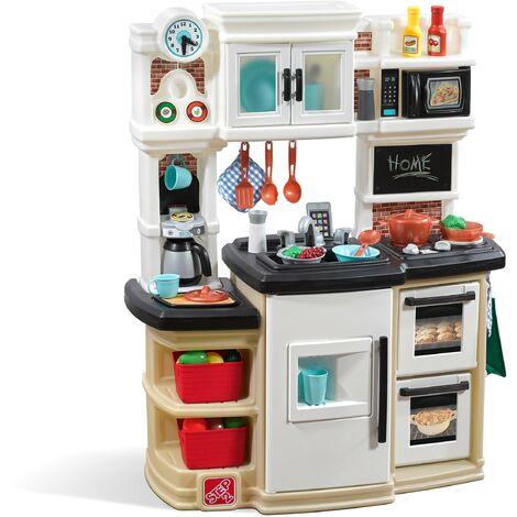 Step2 Great Gourmet Cuisine Enfant en Plastique   Jeu / Jouet Cuisine pour Enfants avec Kit d'accessoires de 36 Pièces