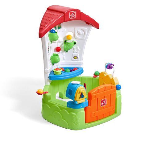Step2 Todler Corner House Maison Enfant en Plastique avec balles & accessoires | Maison de Jeux pour l'extérieur / jardin ou l'intérieur