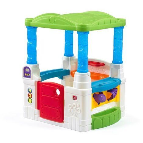 Step2 Wonderball Fun House Maison Enfant en Plastique avec 20 balles | Maison de Jeux pour l'extérieur / jardin ou l'intérieur