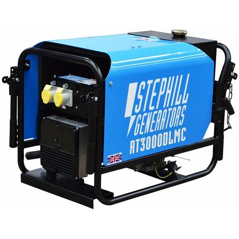 Stephill RT3000DLMC 2.6 kVA Lombardini Rail Approved Diesel Generator