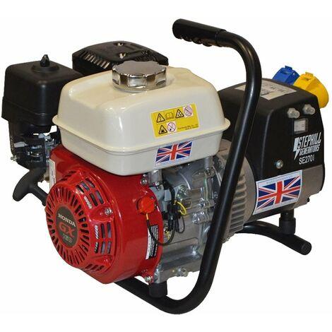 Stephill SE2701 2.7 kVA Honda GX160 Petrol Generator