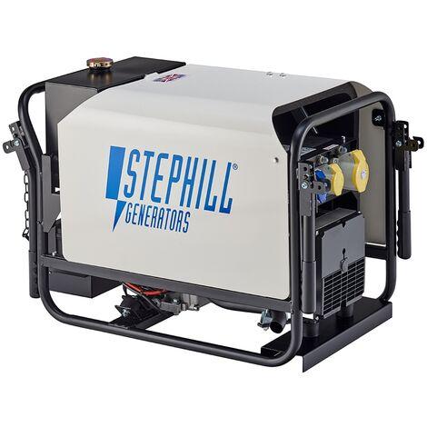 Stephill SE4000DLES 4.0 kVA Lombardini Silent Electric Start Diesel Generator 3000 RPM