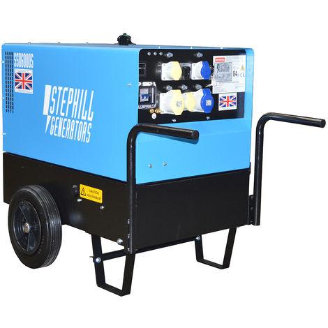 Stephill SSD6000S 6.0 kVA Yanmar Super Silent Diesel Generator - 3000 RPM