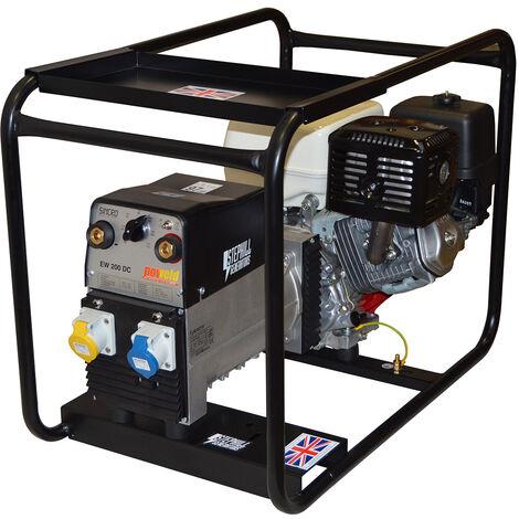 Stephill SW200DC 200 Amp Honda GX390 DC Petrol Welder Generator