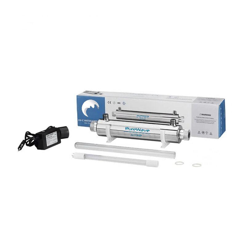 Purewave - Stérilisateur d'eau UV 25w ampoule Philips 1,8 m3 /H