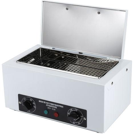 Sterilizzatore UV, Scatola per la disinfezione dell'illuminazione della Lampada UV 300W, sterilizzatore ad Alta Temperatura per la casa dello Strumento per Unghie di Bellezza
