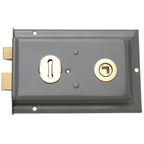 Sterling SRL002 Rim Lock Sash Grey 152 x 101mm