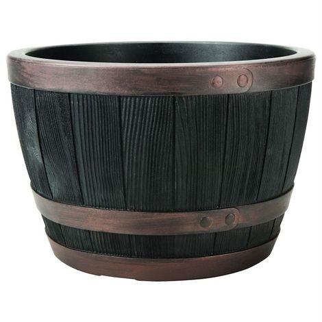 Stewart Garden Blenheim Half Barrel - 40cm - Copper (2407071)