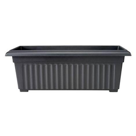 Stewart Garden Corinthian Trough - 70cm - Black (2276005)