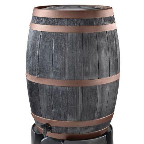 Stewart Garden Oak Effect Water Butt - 235L - Copper (2411071)