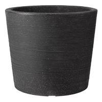 Stewart Garden Varese Low Planter - 40cm - Granite (5052139)