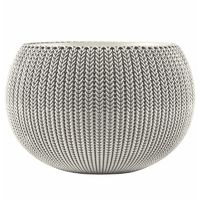 Stewarts Garden Cozies Planter - Cloudy Grey - Medium (7313084)