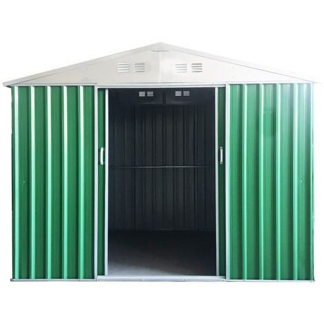 Sti Garage Casetta Box In Lamiera Zincata Varie Misure Alta Qualita