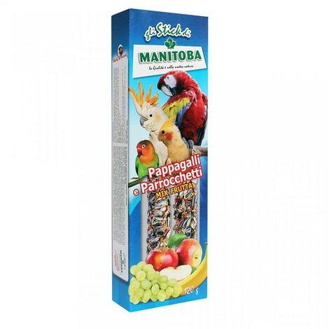 Stick Mix Frutta per Parrocchetti e Pappagalli | 120 gr
