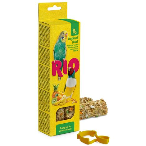 Stick with tropical fruit for parrots and exotic birds