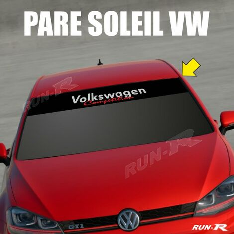 Sticker 893 pare-soleil compatible avec VW COMPETITION Up Polo Golf Caddy Scirocco Beetle