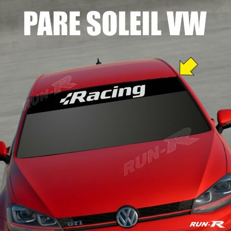 Sticker 897 pare-soleil compatible avec VW RACING Up Polo Golf Caddy Scirocco Beetle