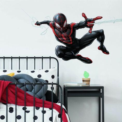 Sticker Géant Disney Spiderman Miles Morales repositionnables 104 CM X 50 CM