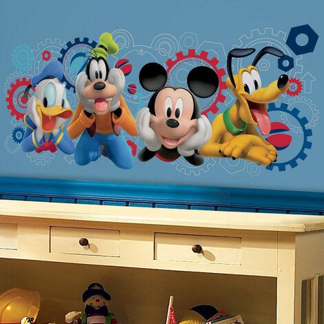Sticker géant Mickey Mouse et ses amis Disney