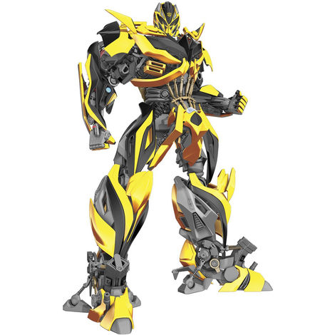 Sticker geant repositionnable Bumblebee Transformers Hasbro 68,6CM X 101,6CM