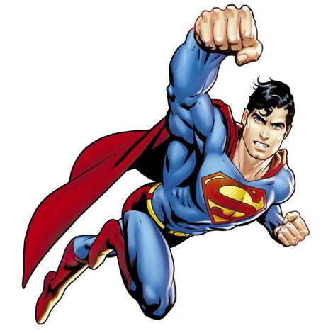 Sticker géant repositionnable Superman DC Comics 68,6CM X 101,6CM