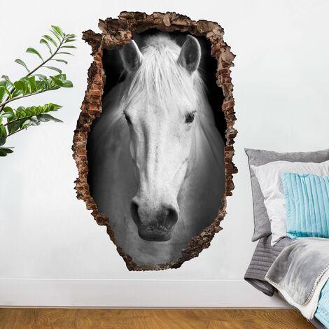 Sticker mural 3D - Dream Of A Horse - Portrait Format 3:2