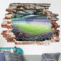 Sticker mural 3D - Football Stadium - Landscape Format 3:4