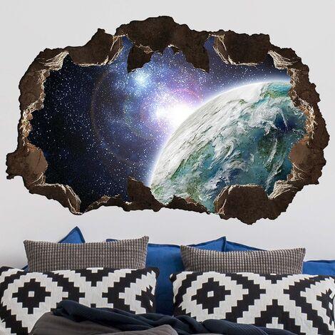 Sticker mural 3D - Galaxy Light - Landscape Format 2:3