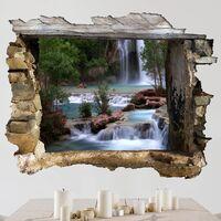 Sticker mural 3D - National Park - Landscape Format 3:4