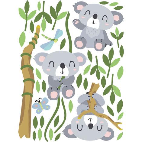 Sticker mural Koala set