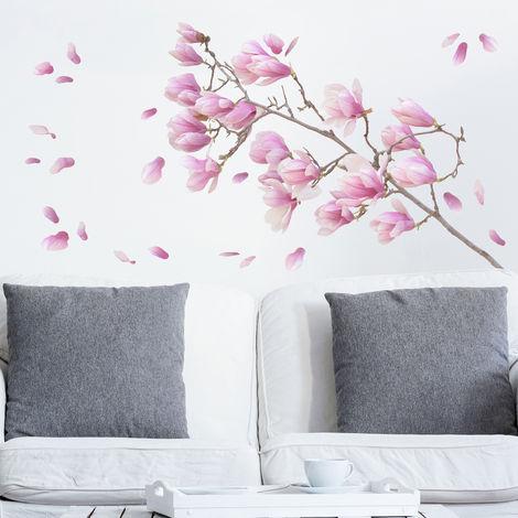 Sticker mural Magnolia branch set