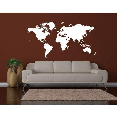 Sticker mural no.191 World Map
