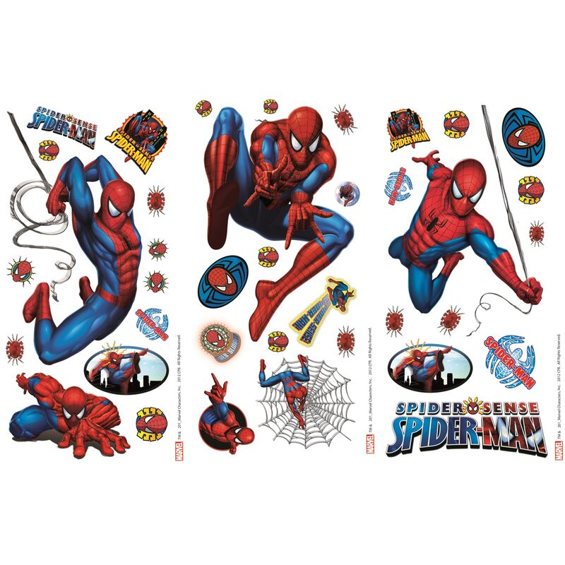 Sticker Mural Spiderman 365 Cm X 175 Cm Marvel