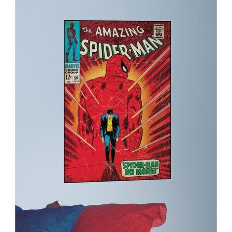 Sticker poster Spider-man no more Marvel Comics