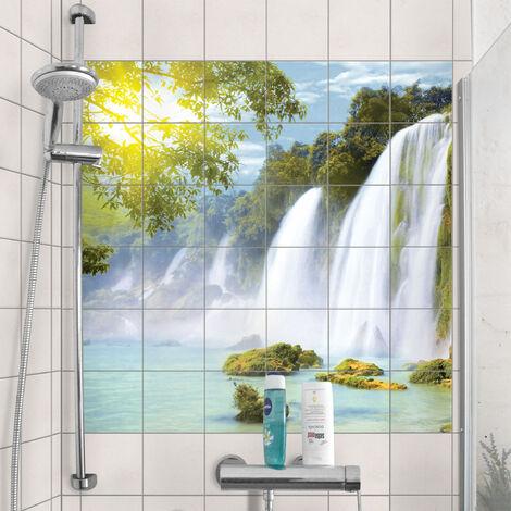 répliques grandes marques détaillant en ligne Stickers carrelage Amazon Waters Dimension De Carreau: 10cm ...