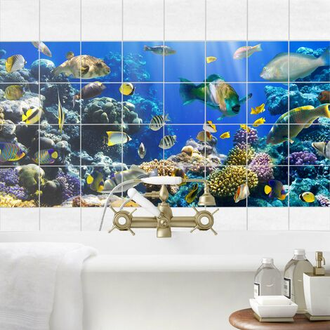 Stickers carrelage Underwater Reef
