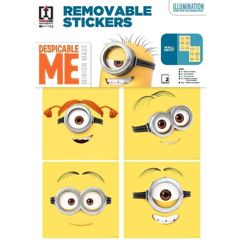 Stickers geant Carrelage Les Minions