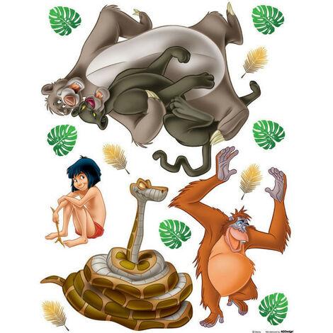 Stickers géant Mowgli Le Livre de la Jungle Disney