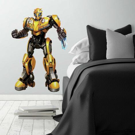 Stickers géants Transformers modèle Bumblebee