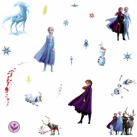 Stickers mural La Reine des Neiges 2 Disney Frozen