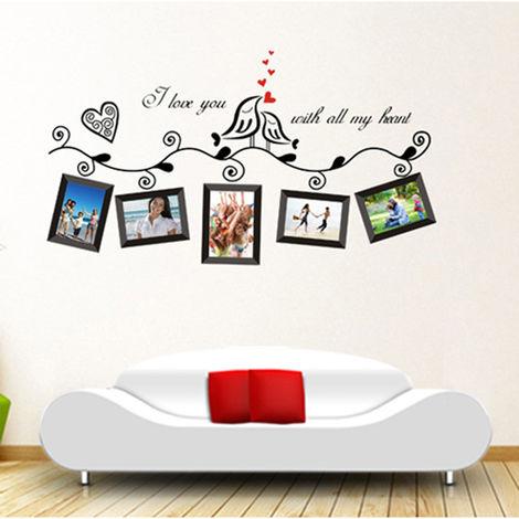 Stickers Muraux D'Art, Decoration De Salle De Mariage Romantique