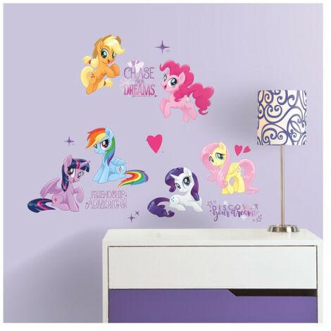 Stickers My Little Pony modèle les amis c'est magique