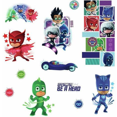 Stickers Pyjamasques avec Yoyo, Bibou et Gluglu
