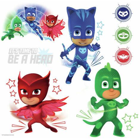 Stickers Pyjamasques phosphorescents