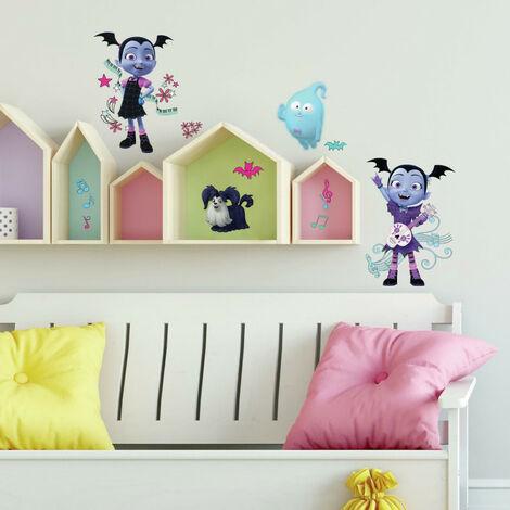 Stickers repositionnables Disney Vampirina Spooktacular DISNEY - 2,31 cm, 3,63 cm by 21,34 cm, 34,27 cm