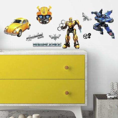 Stickers Transformers - modèle Bumblebee Autobot