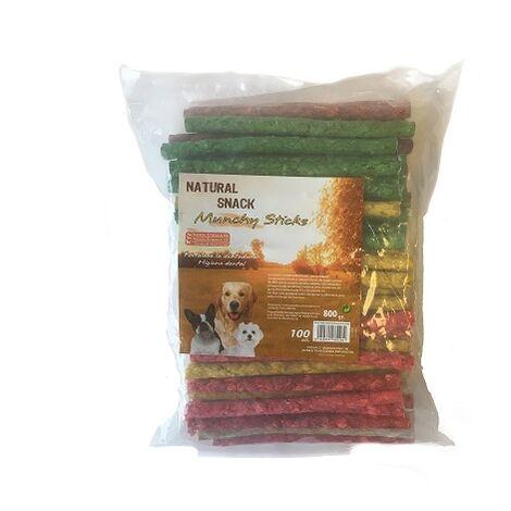 Sticks SANDIMAS TASTY 800g masticables para perros (100 Uds)