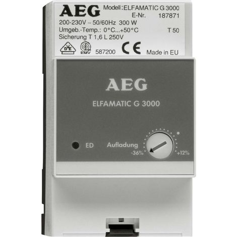 Stiebel Eltron Gruppensteuergerät AEG ELFAMATIC G 3000