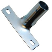 Stielhalter aus Metall, Langloch, zum Aufschrauben, 24 mm
