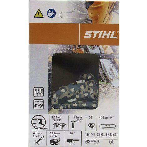 3 Stück Stihl Vollmeißelkette 35cm 3//8 1,3 TG 50 PS3 Picco Super 3617 000 0050